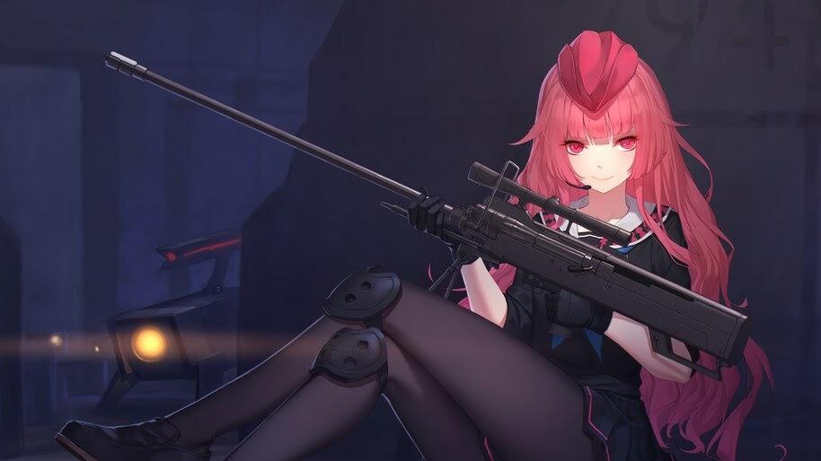 Anime, Girls Frontline, Sniper, Rifle, NTW-20, 4K, #6.1085