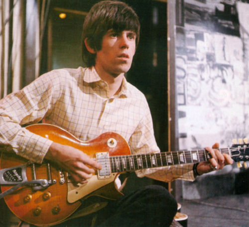 Keith Richards 1959 Gibson Les Paul Iconic Axes The