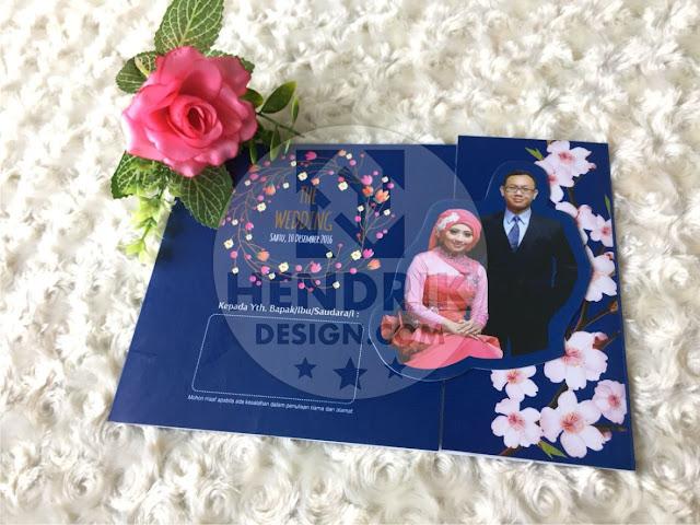 Contoh undangan pernikahan softcover farah dan rusli