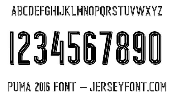 puma 2016 font puma 2016 font