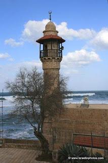 Mezquita del al-Bahr (el mar) en Tel Aviv
