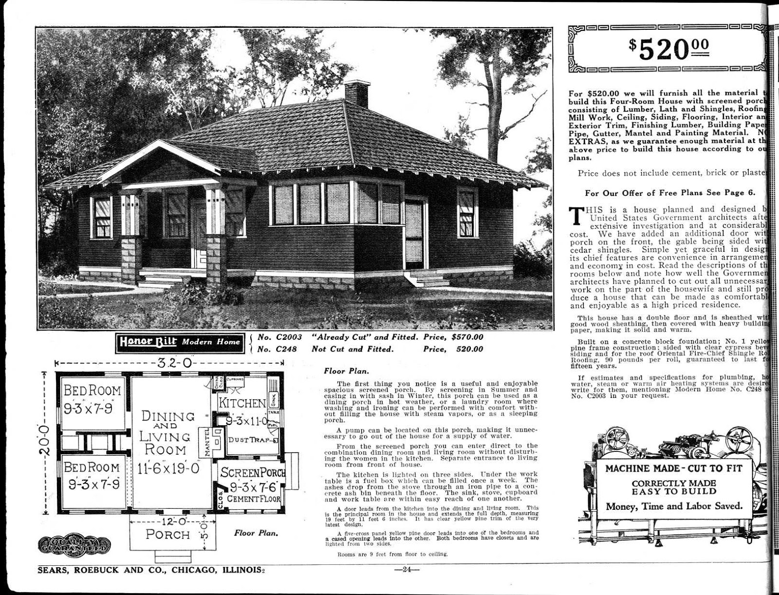 the digital research library of illinois history journal what is a sears modern home and sears. Black Bedroom Furniture Sets. Home Design Ideas