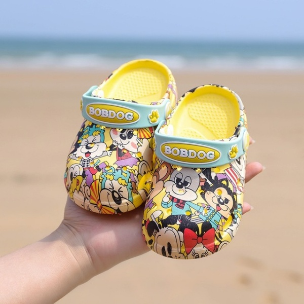 Beach Slippers Children Sandals Summer Cartoon Kid Shoes
