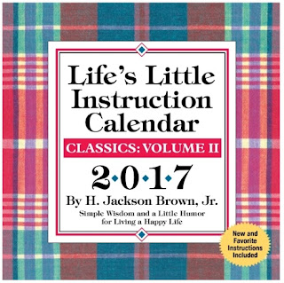 The motivation found in the Life's Little Instruction Calendar will help you keep your New Year's resolutions.