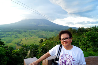 Lignon Hill with mom