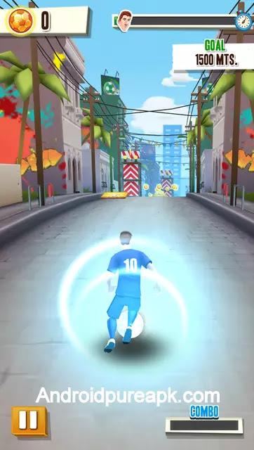 Messi Runner Mod Apk