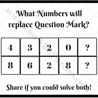 Mind bending math mind game brain teaser