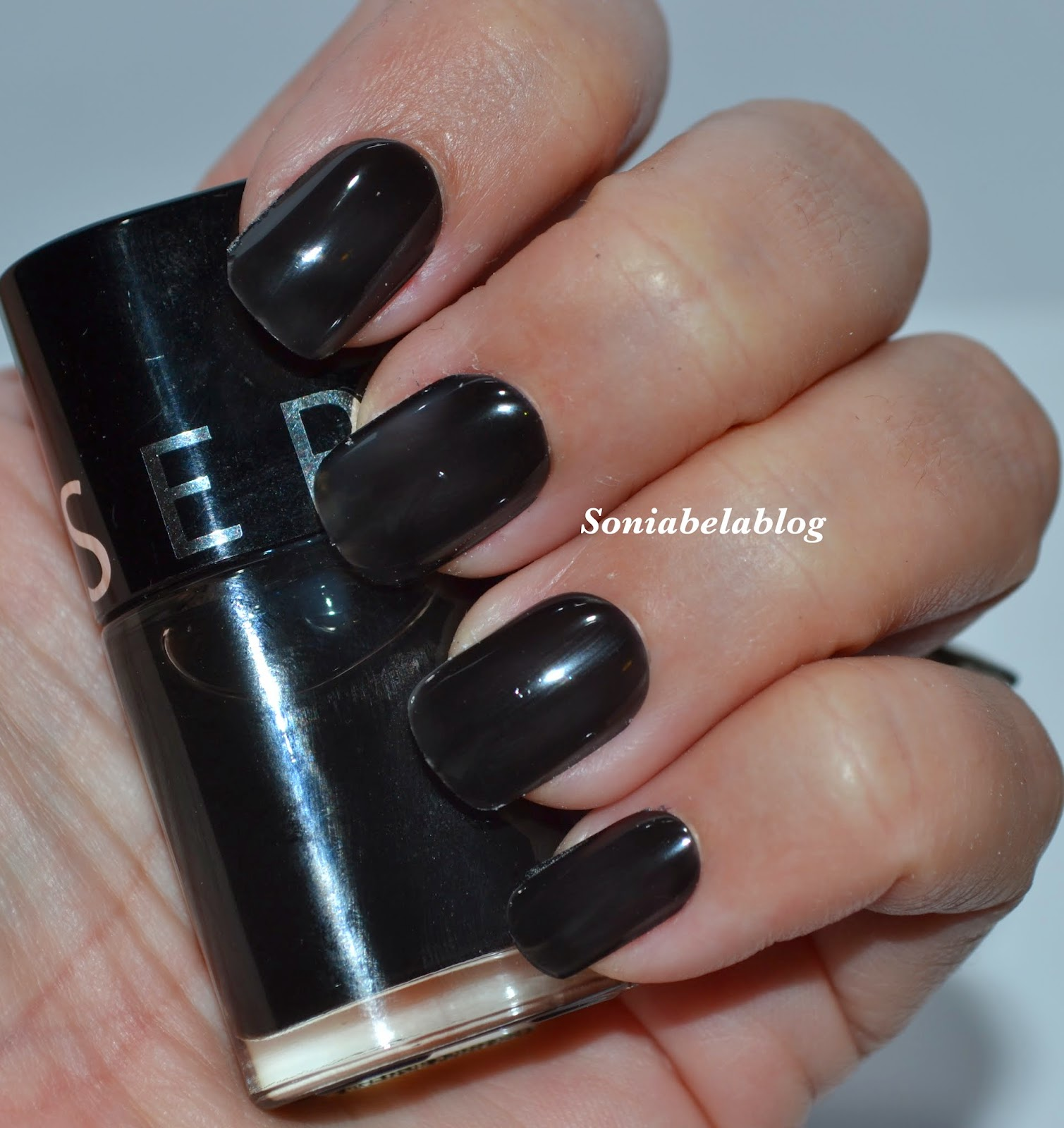 Sephora black lace nail design ideas easy nail art swatches sephora black lace nail polish review swatches prinsesfo Image collections