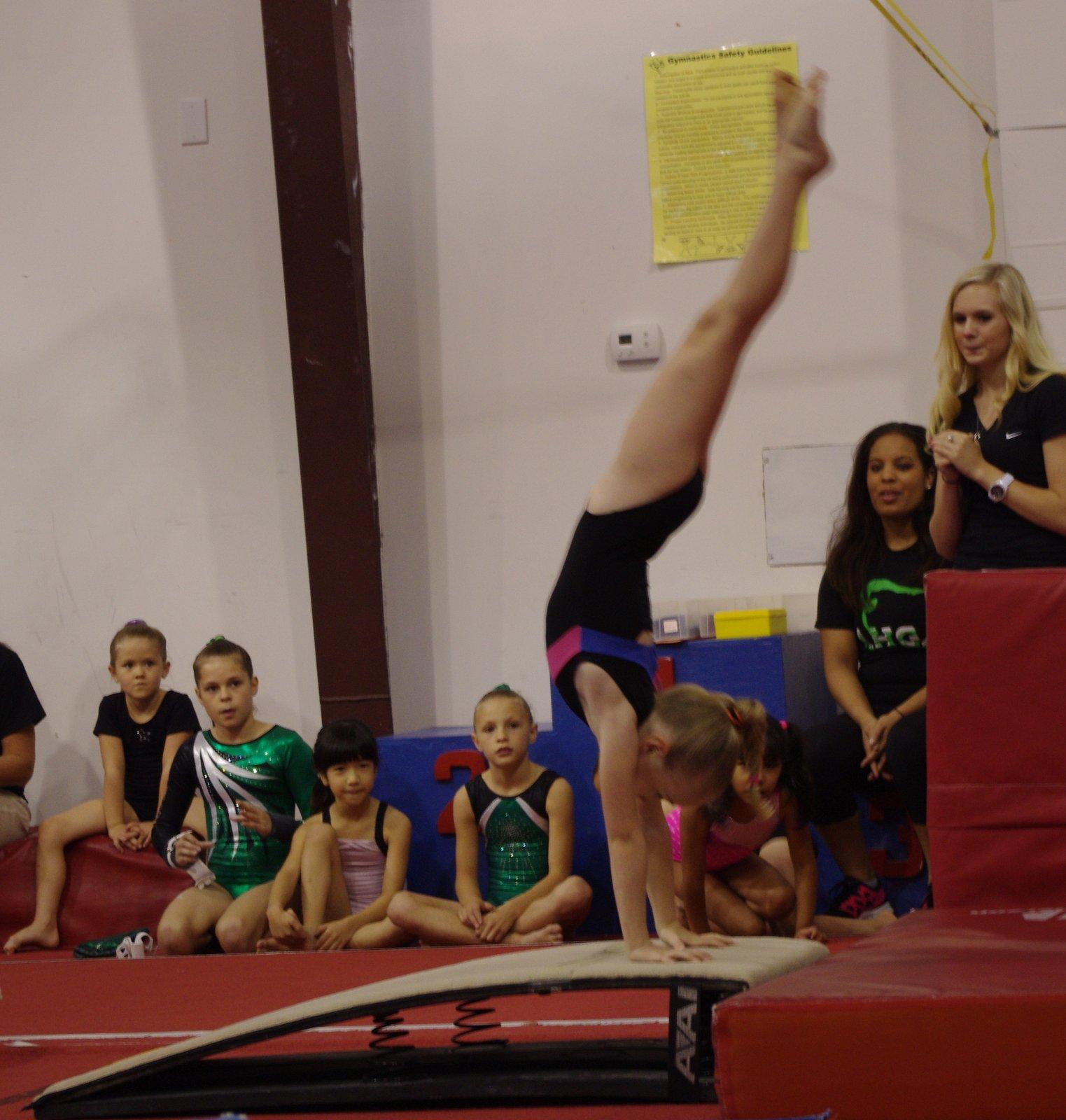 how to run a gymnastics meet