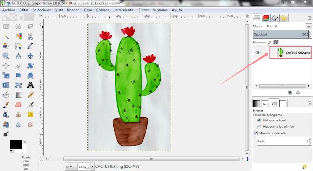 como-digitalizar-dibujos-con-gimp