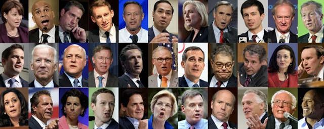 As 2020 candidates turn left, some Democrats worry about the center