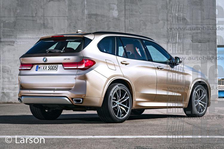 đuôi xe BMW X5 đời mới nhất 2019