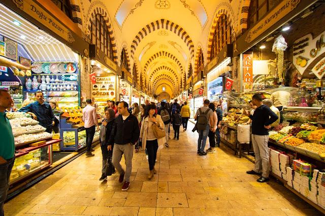 Bazar delle Spezie o Mercato egiziano-Istanbul