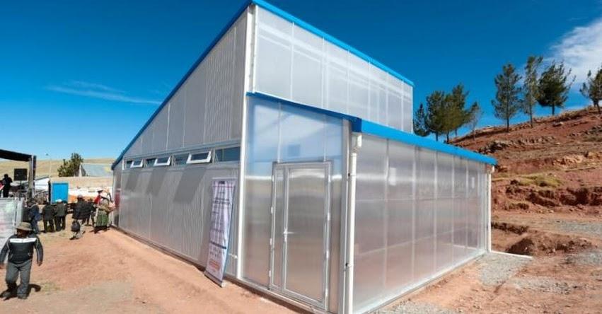 PRONIED instalará 272 módulos de heladas para proteger a escolares de zonas altoandinas - www.pronied.gob.pe