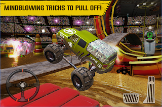 Download Monster Truck Arena Driver Apk