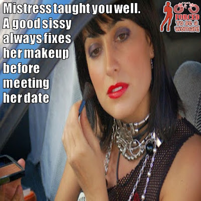Mistress taught you well Sissy TG Caption - TG Captions and more - Crossdressing and Sissy Tales and Captioned images