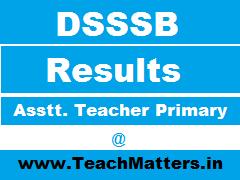 image : DSSSB Result & Marks List - 146/14, 147/14 & 150/14 @ TeachMatters