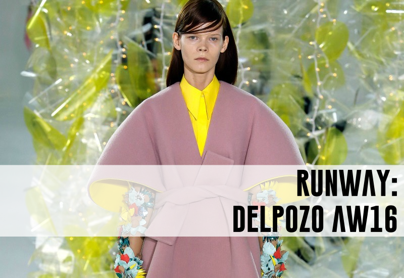 delpozo runway fall ready to wear RTW 2016