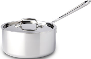 all clad sauce pan made in america