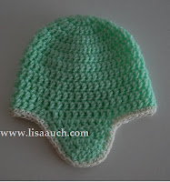 East baby hat crochet pattern with earflaps-crochet patterns free