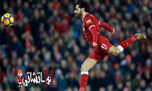 محمد صلاح يحرز هدفين مع فريقه ليفربول أمام ليستر سيتي