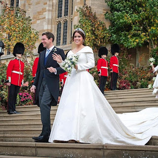 #RoyalWedding; Photos from Princess Eugenie and Jack Brooksbank's wedding