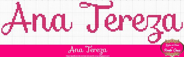 Nome Ana Tereza em Ponto Cruz
