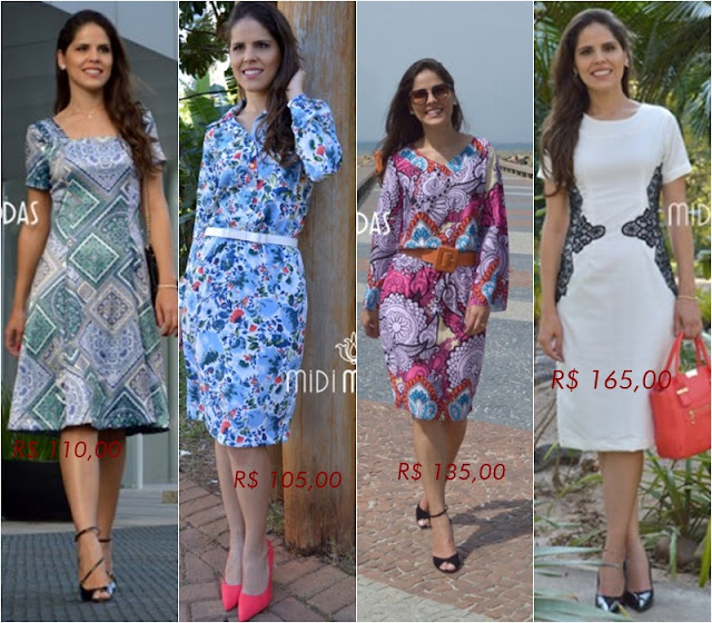 Loja que vende vestidos e chemises