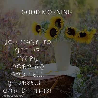 good morning with flowers quotes