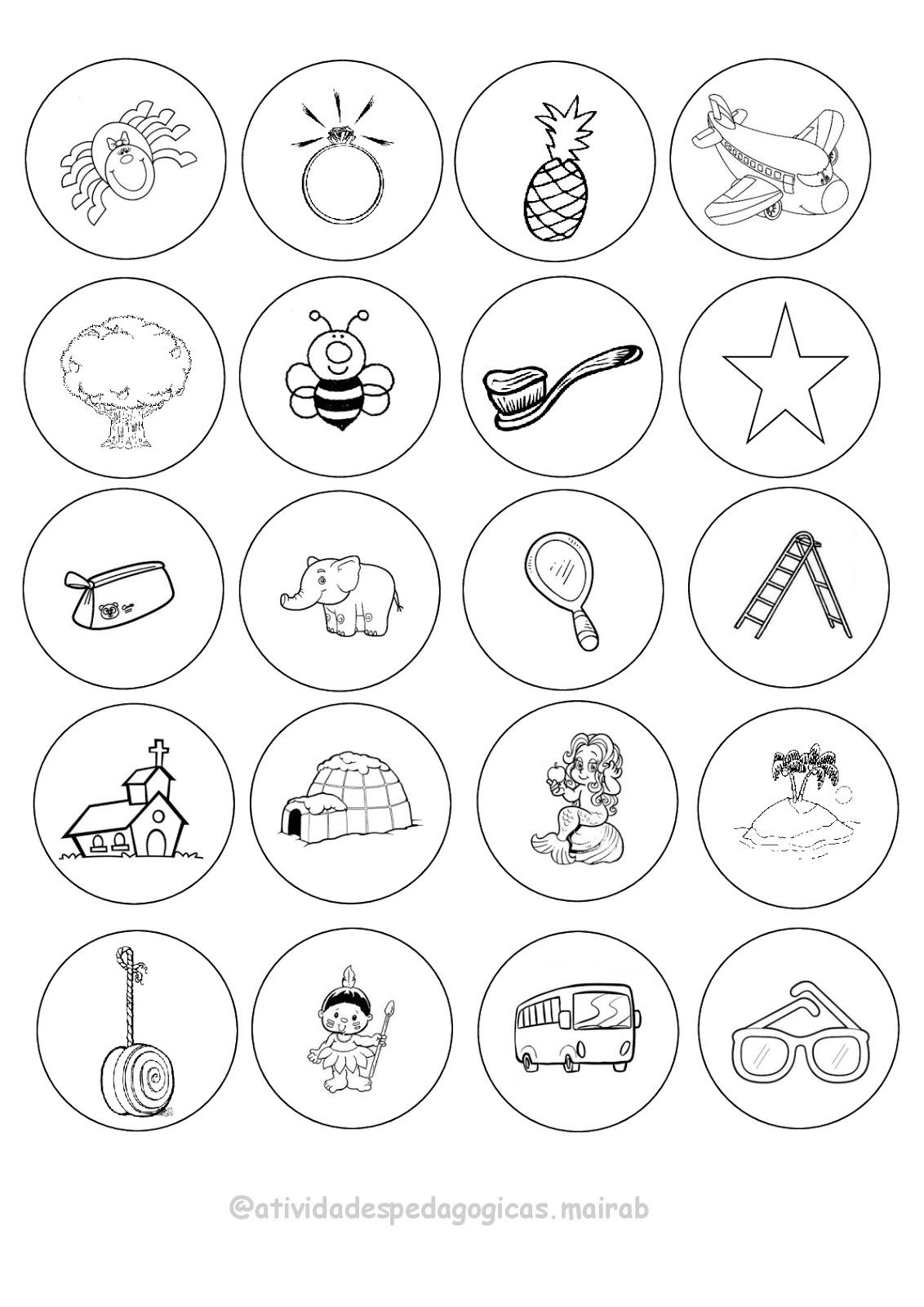 Fichas Com Figuras Que Comecam Com Vogais Diversas Maneiras De Usar