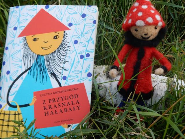 książka dla dzieci, krasnoludek, Lucyna Krzemieniecka