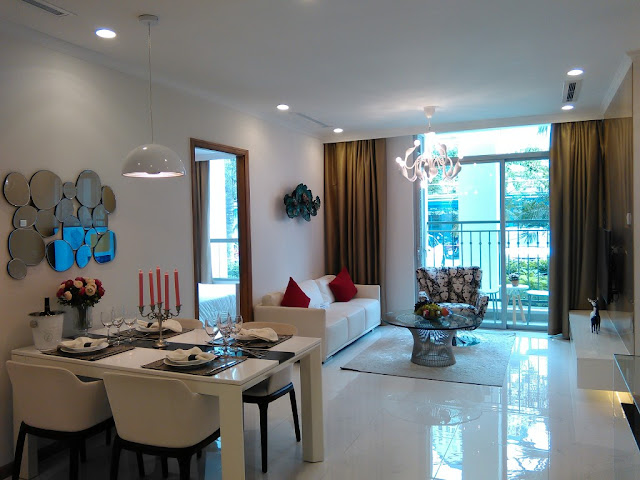 Cho thuê căn hộ Vinhomes Central Park (Tân Cảng) - Quận 2 - TP.HCM
