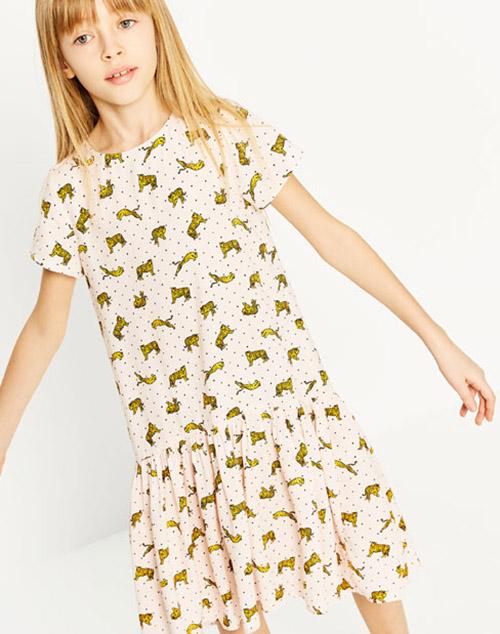 Vestidos primavera verano 2018 para nenas.