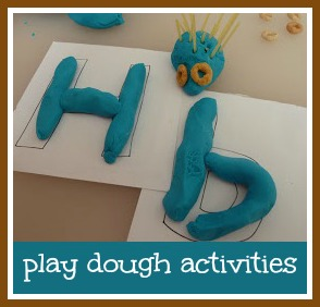 Play dough activities to try with toddlers