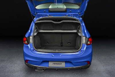Fiat Argo Boot space