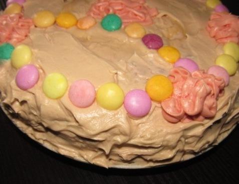 Easy homemade birthday cake
