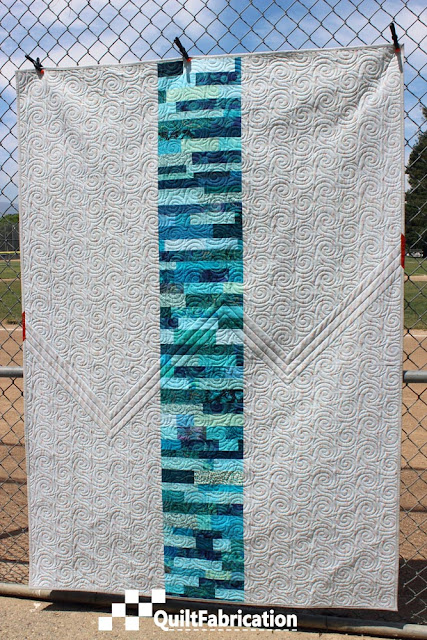 Fluctuate quilt back