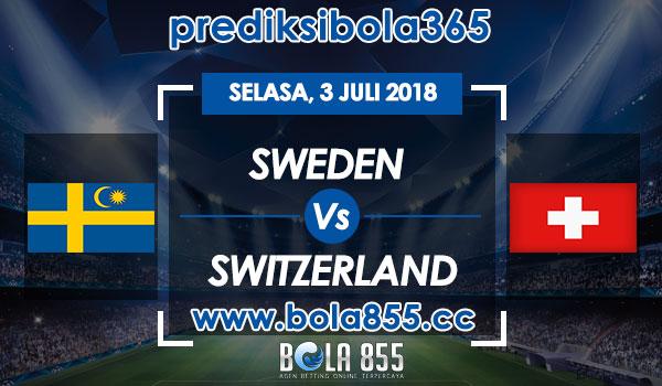 Prediksi Bola Sweden vs Switzerland 3 Juli 2018