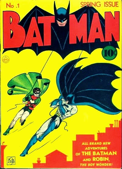 Batman #1 from Spring 1940