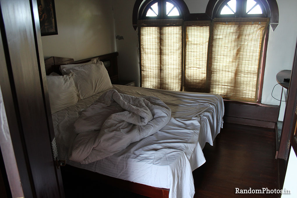 Bedroom in houseboat