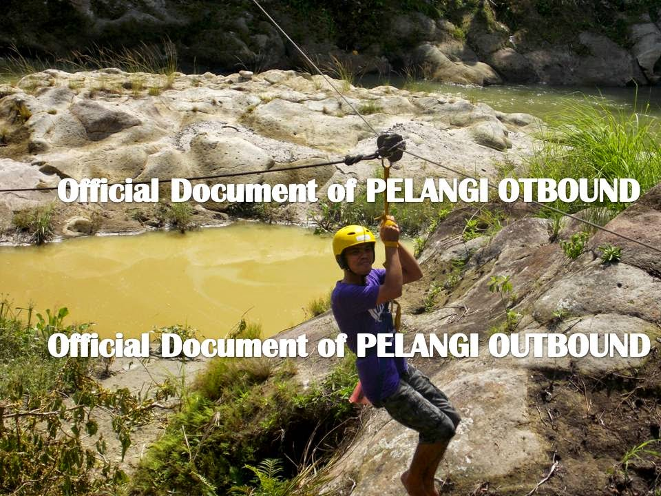 Flying fox Pelangi Outbound Medan