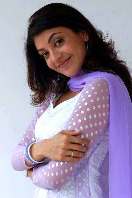 Beautiful Kajal Agarwal In White Dresses beautiful Wallpaper