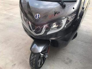 Motor roda 3 china siap mengaspal di Indonesia dengan harga 18 jutaan