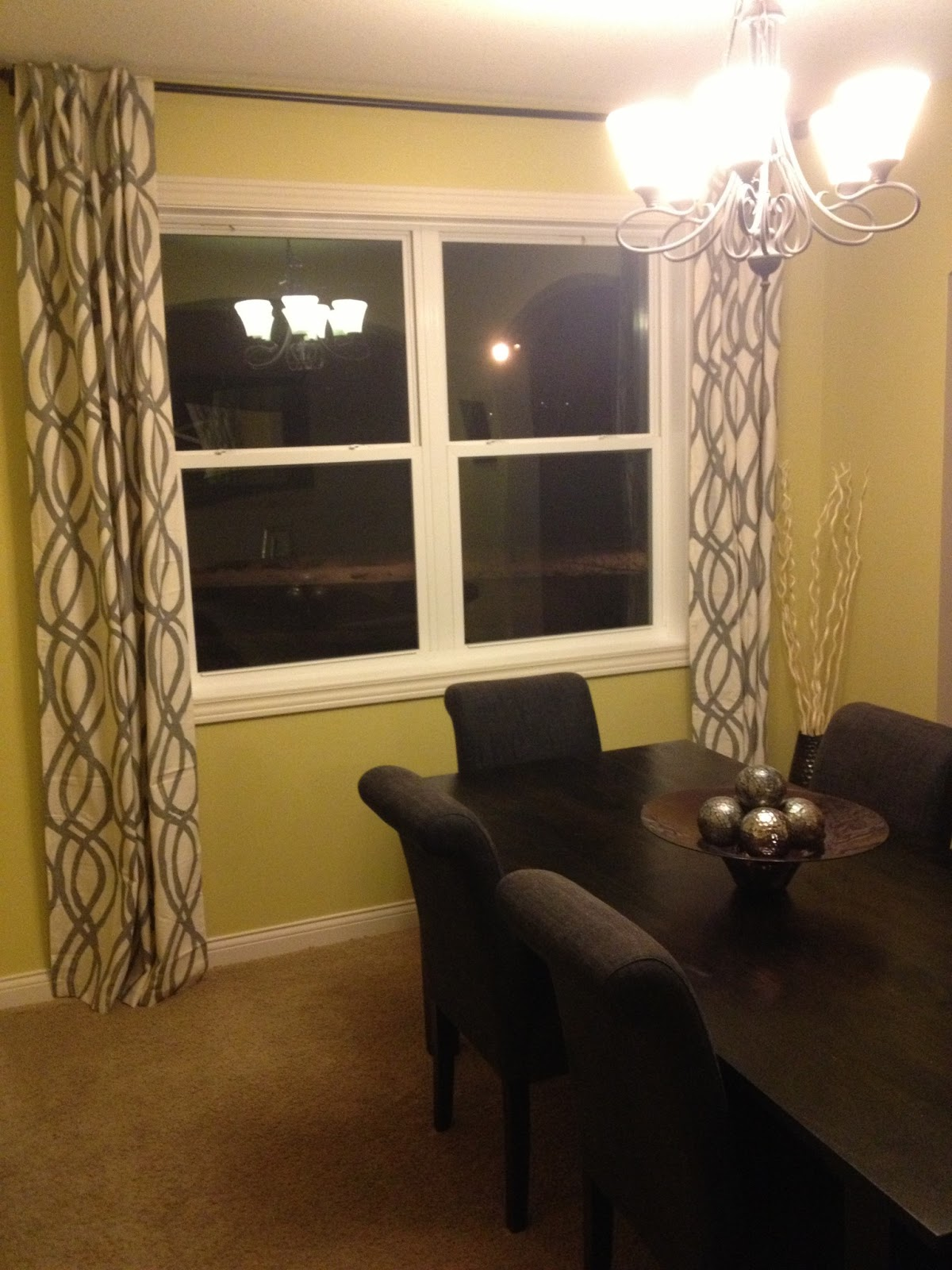 Our Styled Suburban Life: Dining Room Curtains on Dining Room Curtain Ideas  id=32080