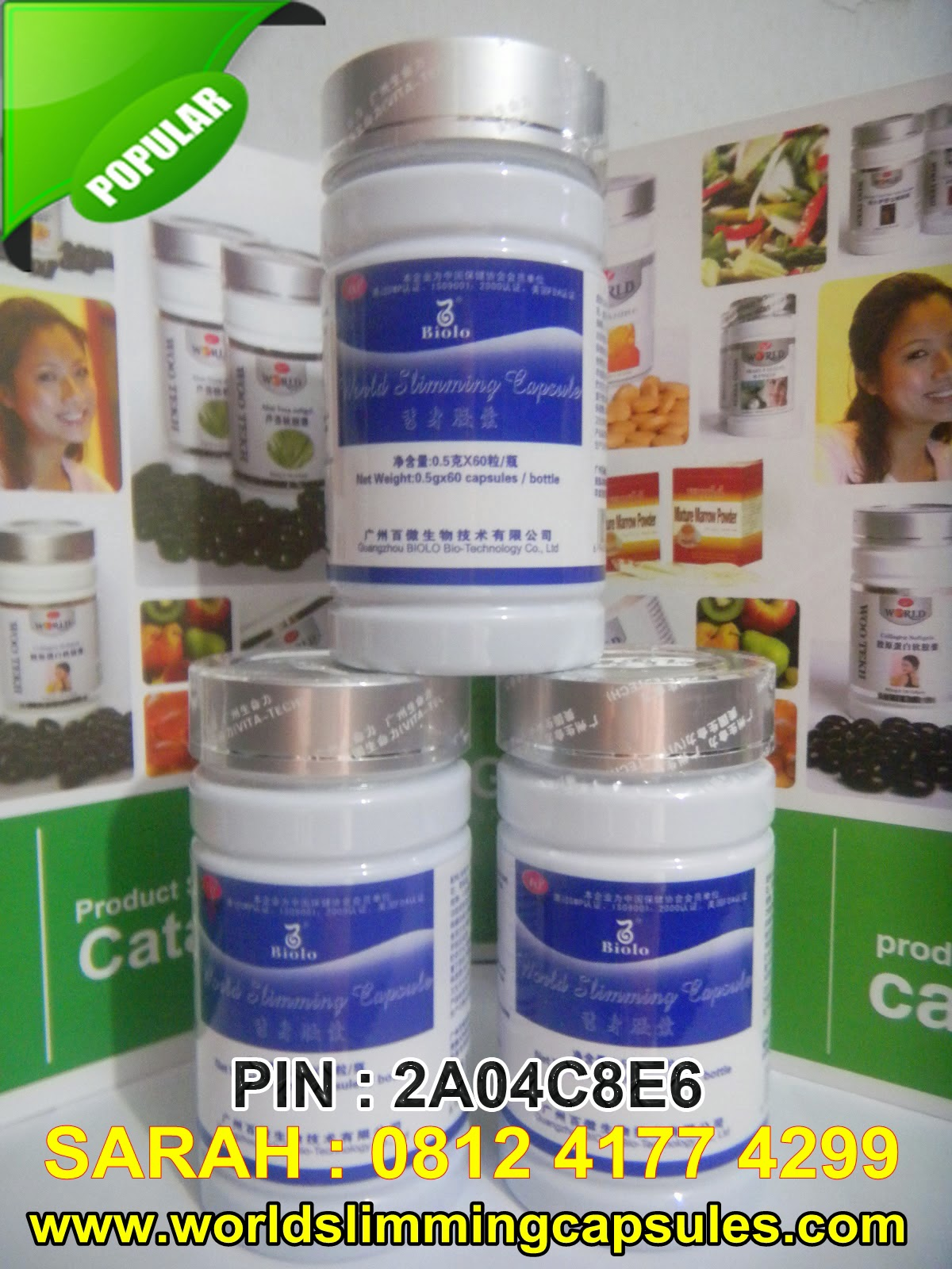 Wsc Biolo | Obat Diet Biolo | Biolo Slimming Capsule | Biolo Slimming | Biolo Slim | Biolo Slim Capsule