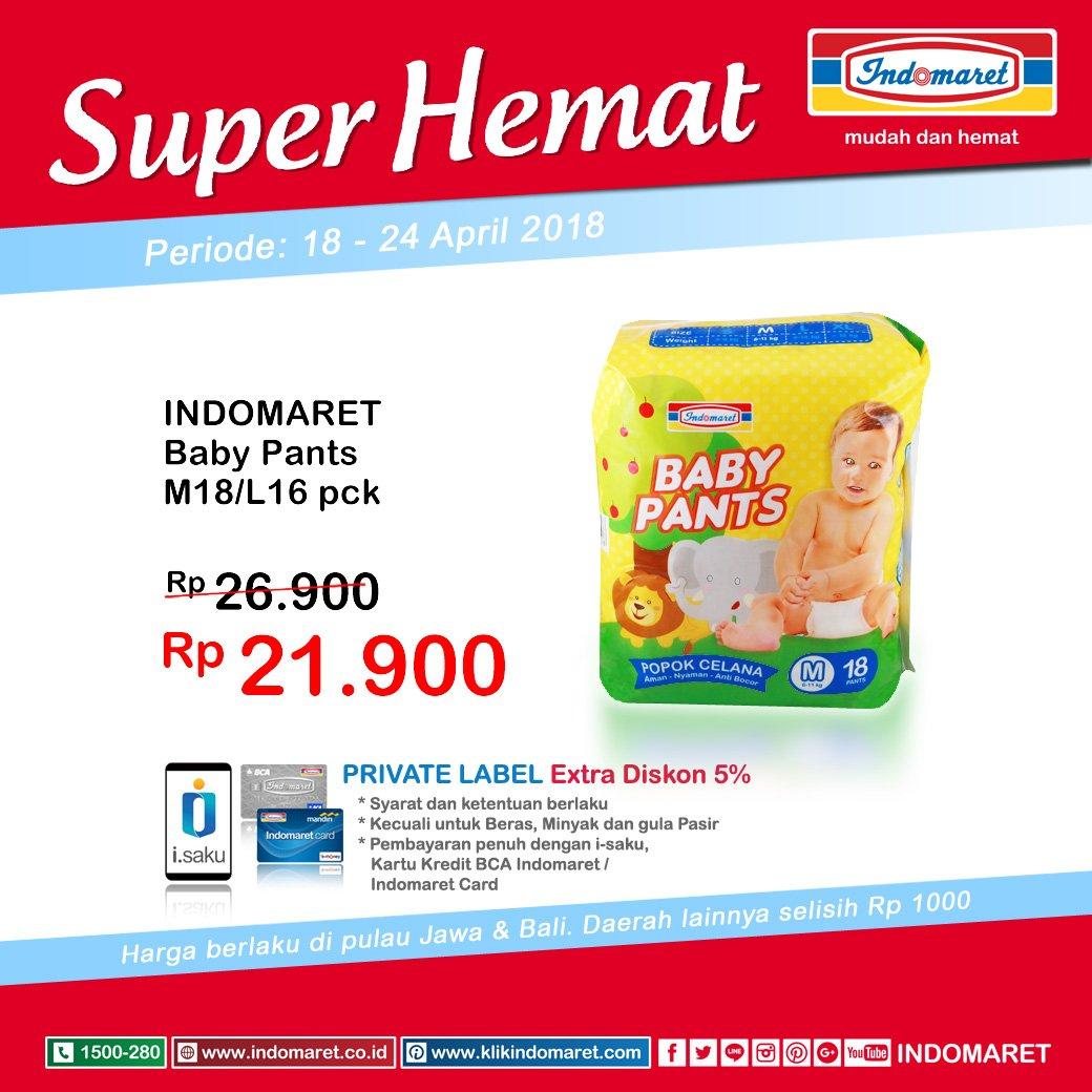 Indomaret - Promo Super Hemat Periode 18 - 24 April 2018 - Promosi247 - Tempatnya Info Promosi