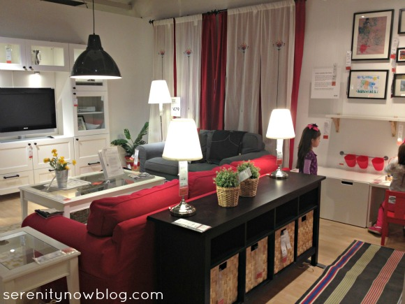 Serenity now ikea shopping trip and home decor - Ikea living room decorating ideas ...