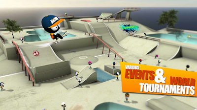 Download Game Stickman Skate Battle APK Gratis