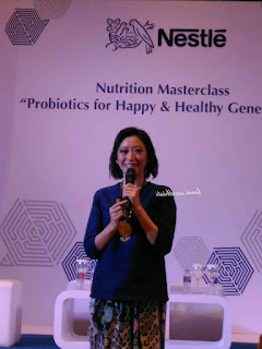 Nestle, lacto grow, probiotik, prebiotik, saluran cerna, sistem pencernaan pada tubuh manusia, contoh makanan probiotik, apa itu probiotik, macam macam produk susu, macam macam produk nestle, Lactobacillus reuteri, Lactobacillus rhamnosus, Bifidobacterium lactis,  Dr. dr. Ariani D. Widodo, SpA (K), Dokter Spesialis Anak, dr. Ray Basrowi, MKK selaku Head of Medical & Nutrition Services Nestle Indonesia,  Prof. Yvan Vandenplas, selaku Ketua Departemen Anak University Hospital Brussels, Belgia, CERELAC Bubur Sereal Susu, LACTOGROW, DANCOW Advanced Excelnutri+, dan susu pertumbuhan NANkid pHPro, Nutrition Masterclass Probiotics for Happy & Healthy Generation, Ayana Mid Plaza, hotel,