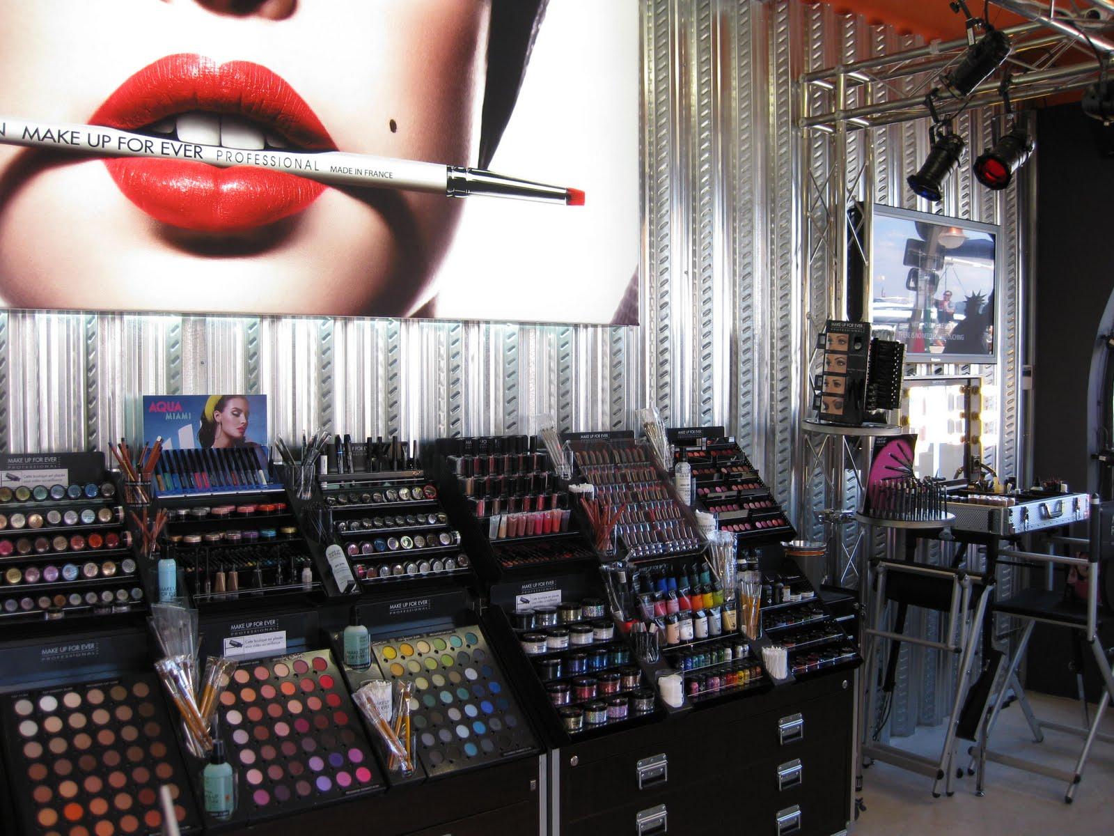 Make Up For Ever's St. Tropez Pop Up Store | Jet Set Girls